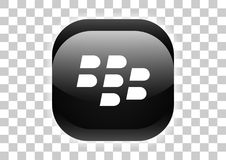 blackberry messenger button royalty free illustration