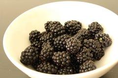 Blackberry, owoc, jagoda, świeża Zdjęcia Royalty Free
