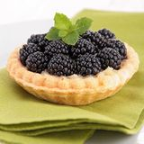 Blackberry pastry Royalty Free Stock Photos