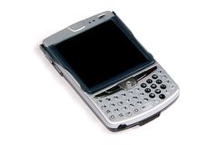 Blackberry pda cellphone Stock Images