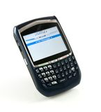 Blackberry phone Stock Photos