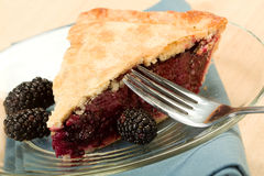 Blackberry Pie Royalty Free Stock Photos