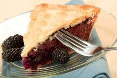 Blackberry Pie Royalty Free Stock Photos