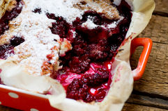 Blackberry pie Royalty Free Stock Images