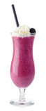 Blackberry smoothie Royalty Free Stock Images