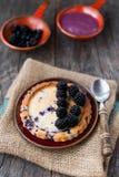 Blackberry tart Royalty Free Stock Photography