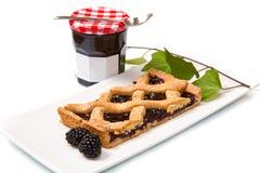 Blackberry tarte Royalty Free Stock Image