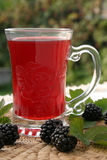 Blackberry tea Royalty Free Stock Image