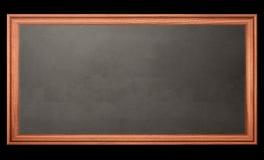 Blackboard. On black. Illustration created on computer Stock Images