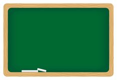 Blackboard. Illustration of empty blackboard to write on stock illustration