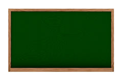 Blackboard in 3d Royalty Free Stock Images