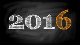 Blackboard - 2016 Obraz Stock