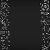Blackboard-02 royaltyfri illustrationer