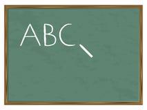 Blackboard ABC Stock Image