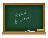 Blackboard. Back to school Royalty Free Stock Photos