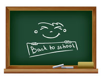 Blackboard. Back to school Stock Images