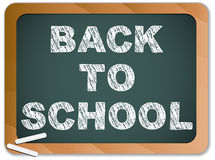 Blackboard with Back to School Royalty Free Stock Photo