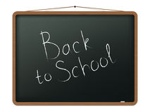 Blackboard with Back to school Royalty Free Stock Images