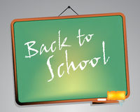 Blackboard. Back to school Royalty Free Stock Photography