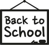 Blackboard Back to school Royalty Free Stock Photos