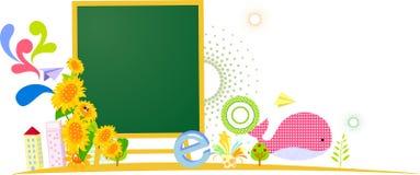 Blackboard background Stock Photography