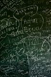 Blackboard Background Royalty Free Stock Photo