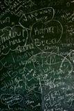 Blackboard Background Royalty Free Stock Photo