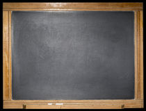 Blackboard blank isolated background Stock Images