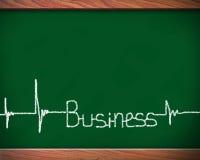 Blackboard business Royalty Free Stock Image