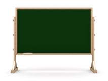 Blackboard with chalk on white background Royalty Free Stock Image