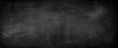 Blackboard or chalkboard. Chalk rubbed out on blackboard Royalty Free Stock Photos