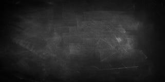 Blackboard or chalkboard. Chalk rubbed out on blackboard Royalty Free Stock Image