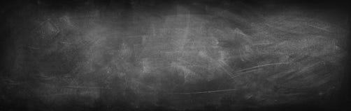 Blackboard or chalkboard. Chalk rubbed out on blackboard Royalty Free Stock Photo