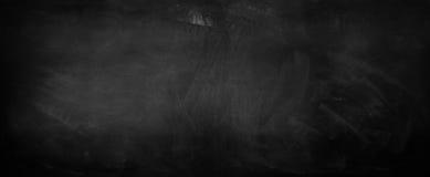 Blackboard or chalkboard. Chalk rubbed out on blackboard Stock Photo