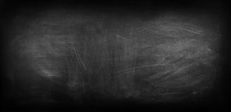 Blackboard or chalkboard. Chalk rubbed out on blackboard Royalty Free Stock Image