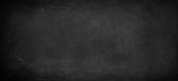 Blackboard or chalkboard. Chalk rubbed out on blackboard Stock Photo