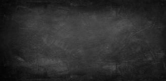 Blackboard or chalkboard. Chalk rubbed out on blackboard Royalty Free Stock Images