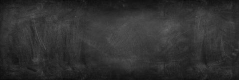 Blackboard or chalkboard. Chalk rubbed out on blackboard Royalty Free Stock Photography