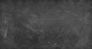 Blackboard or chalkboard. Chalk rubbed out on blackboard background Royalty Free Stock Photos