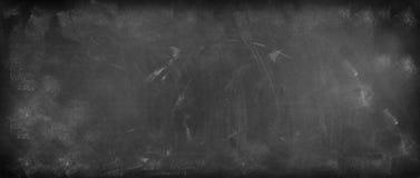 Blackboard or chalkboard. Chalk rubbed out on blackboard background Stock Photo