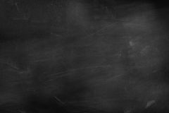 Blackboard or chalkboard. Chalk rubbed out on blackboard Stock Photography