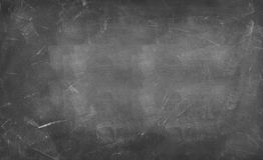 Blackboard or chalkboard. Chalk rubbed out on blackboard background Stock Photography