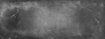 Blackboard or chalkboard. Chalk rubbed out on blackboard background Royalty Free Stock Image