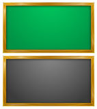 Blackboard, Chalkboard, Education. Vector Illustration of Blackboard or Chalkboard Stock Illustration