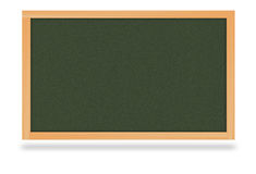 Blackboard Chalkboard for studying Royalty Free Stock Images