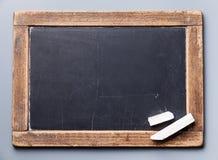 Blackboard chalkboard Stock Image