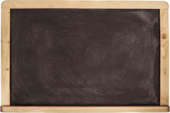 Blackboard  chalkboard texture. Empty  black  with Royalty Free Stock Image