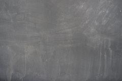 Blackboard ( chalkboard ) texture. Empty blank black chalkboard with chalk traces Stock Photos