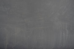 Blackboard ( chalkboard ) texture. Empty blank black chalkboard with chalk traces Royalty Free Stock Photography