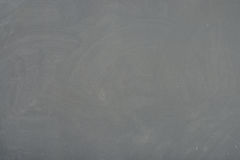 Blackboard ( chalkboard ) texture. Empty blank black chalkboard with chalk traces Royalty Free Stock Image